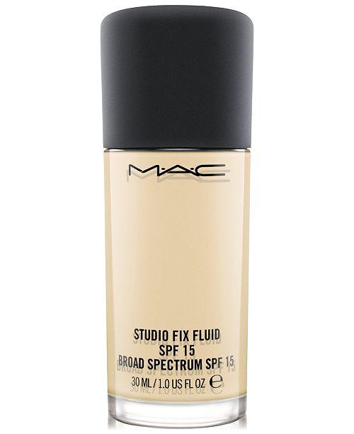 MAC Studio Fix Fluid SPF 15 Foundation, 1-oz.