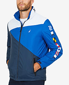 Nautica Men's Heritage Signal Flag Jacket