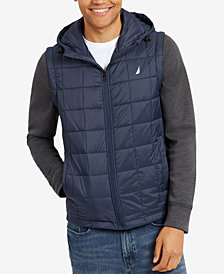 Nautica Men's Detachable-Sleeve Jacket