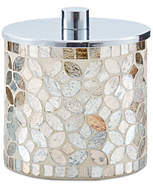 JLA Home Cape Mosaic Covered Jar, Created for Macy's