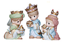 Precious Moments We Three Kings Figurine 3-Piece Set
