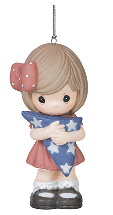 Precious Moments Forever My Hero Girl Ornament