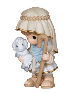 Precious Moments Come Let Us Adore Him - Nativity Shepherd Figurine