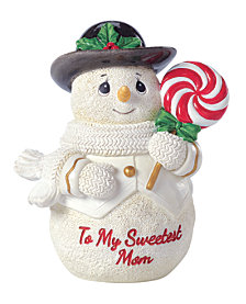 Precious Moments To My Sweetest Mom Snowman Figurine