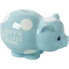 Baby's College Fund Piggy Bank, Boy