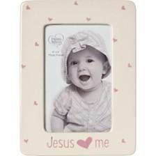 Jesus Loves Me 4 x 6 Photo Frame, Girl