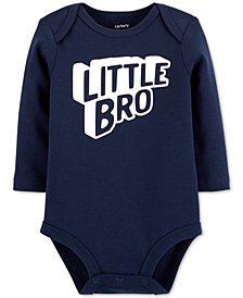 Carter's Baby Boys Little Bro Cotton Bodysuit