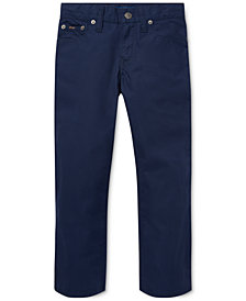 Polo Ralph Lauren Toddler Boys Varick Slim Fit Cotton Pants