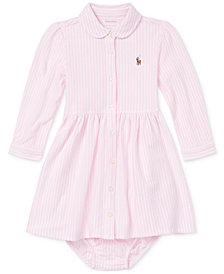 Ralph Lauren Baby Girls Oxford Dress