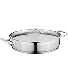 BergHoff Hotel 4.2-qt Covered Two-Handle Deep Skillet