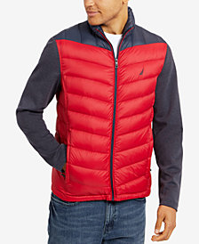 Nautica Men's Colorblocked Quilted Jacket