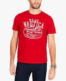 Nautica Men's Anchor Rope Logo Graphic T-Shirt