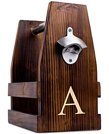 Cathy's Concepts Personalized Fir Wood Beverage Carrier