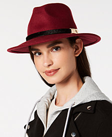 I.N.C. Wool-Felt Panama Hat, Created for Macy's