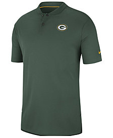 Nike Men's Green Bay Packers Elite Coaches Polo 2018