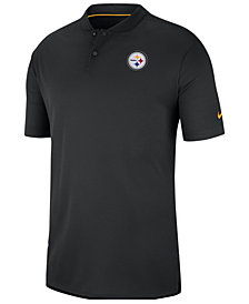 Nike Men's Pittsburgh Steelers Elite Coaches Polo 2018