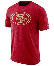 Nike Men's San Francisco 49ers Dri-FIT Cotton Slub On-Field T-Shirt