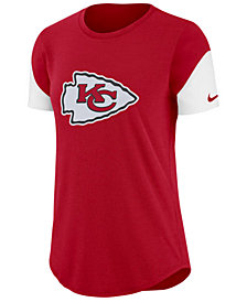 Nike Women's Kansas City Chiefs Tri-Fan T-Shirt