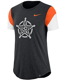 Nike Women's Oklahoma State Cowboys Tri-Blend Fan T-Shirt