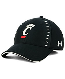 Under Armour Cincinnati Bearcats Blitzing Flex Stretch Fitted Cap