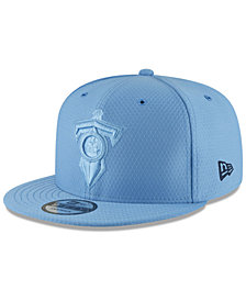 New Era Tennessee Titans On Field Color Rush 9FIFTY Snapback Cap
