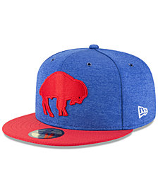 New Era Boys' Buffalo Bills On Field Sideline Home 59FIFTY Fitted Cap