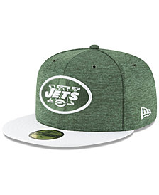 New Era Boys' New York Jets On Field Sideline Home 59FIFTY Fitted Cap