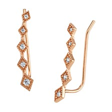 Unwritten Cubic Zirconia Novelty Ear Crawler