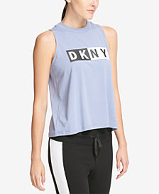 DKNY Sport Logo Tank Top, Created for Macy's