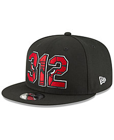 New Era Chicago Bulls Area Code 9FIFTY Snapback Cap