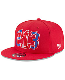 New Era Los Angeles Clippers Area Code 9FIFTY Snapback Cap