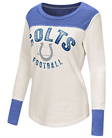 G-III Sports Women's Indianapolis Colts Fanclub Thermal Long Sleeve T-Shirt