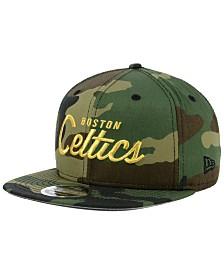 New Era Boston Celtics Classic Script 9FIFTY Snapback Cap