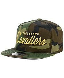 New Era Cleveland Cavaliers Classic Script 9FIFTY Snapback Cap