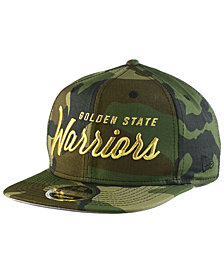 New Era Golden State Warriors Classic Script 9FIFTY Snapback Cap