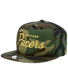 New Era Indiana Pacers Classic Script 9FIFTY Snapback Cap