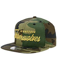 New Era Minnesota Timberwolves Classic Script 9FIFTY Snapback Cap