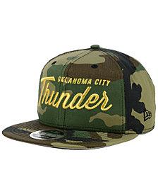 New Era Oklahoma City Thunder Classic Script 9FIFTY Snapback Cap