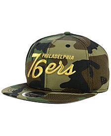 New Era Philadelphia 76ers Classic Script 9FIFTY Snapback Cap