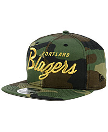 New Era Portland Trail Blazers Classic Script 9FIFTY Snapback Cap
