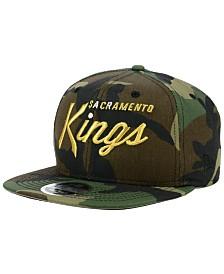 New Era Sacramento Kings Classic Script 9FIFTY Snapback Cap