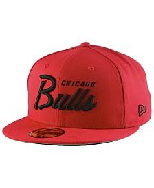 New Era Chicago Bulls Classic Script 59FIFTY FITTED Cap