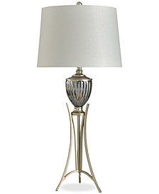 StyleCraft Imperial Silver Glam Table Lamp