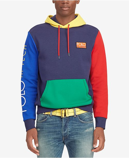 262ef8a9c4ed1 Polo Ralph Lauren Men s Hi Tech Color-Blocked Hoodie   Reviews ...