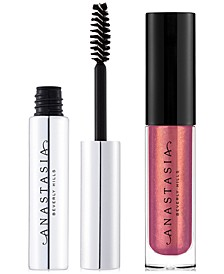 Receive a Free Trial-Size Clear Brow gel and Lip Gloss with any $40 Anastasia Beverly Hills purchase