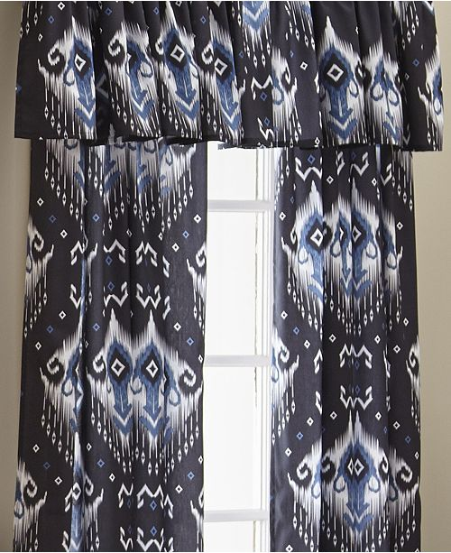Colcha Linens Blue Falls Tailored Valance