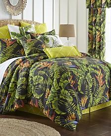 Flower Of Paradise Comforter Set-Twin
