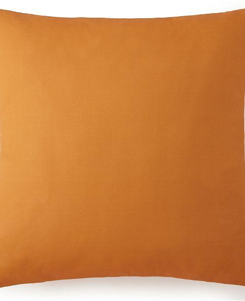 Colcha Linens Nautical Board Euro Sham - Solid Orange