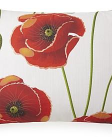 Poppy Plaid Pillow Sham-Queen