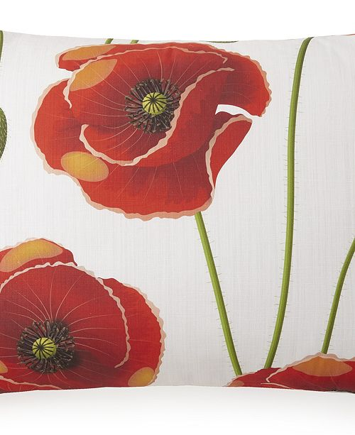 Colcha Linens Poppy Plaid Pillow Sham-Queen